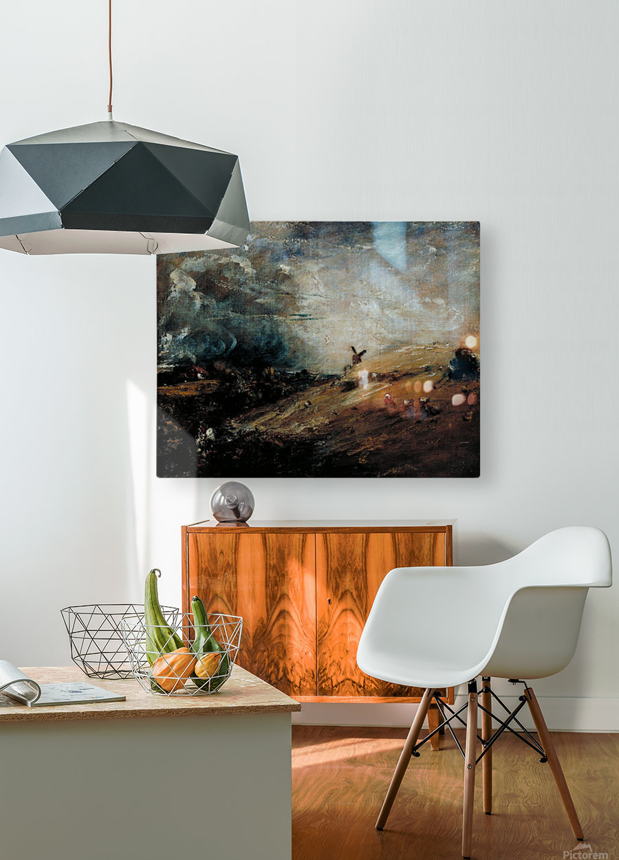 Summer, Afternoon - After a Shower  HD Metal print with Floating Frame on Back
