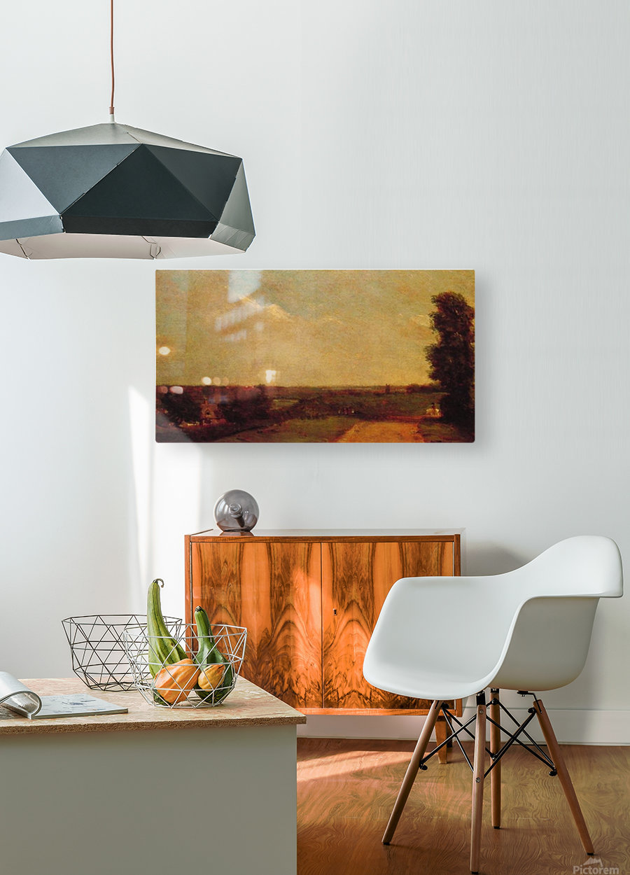 View at Dedham  HD Metal print with Floating Frame on Back