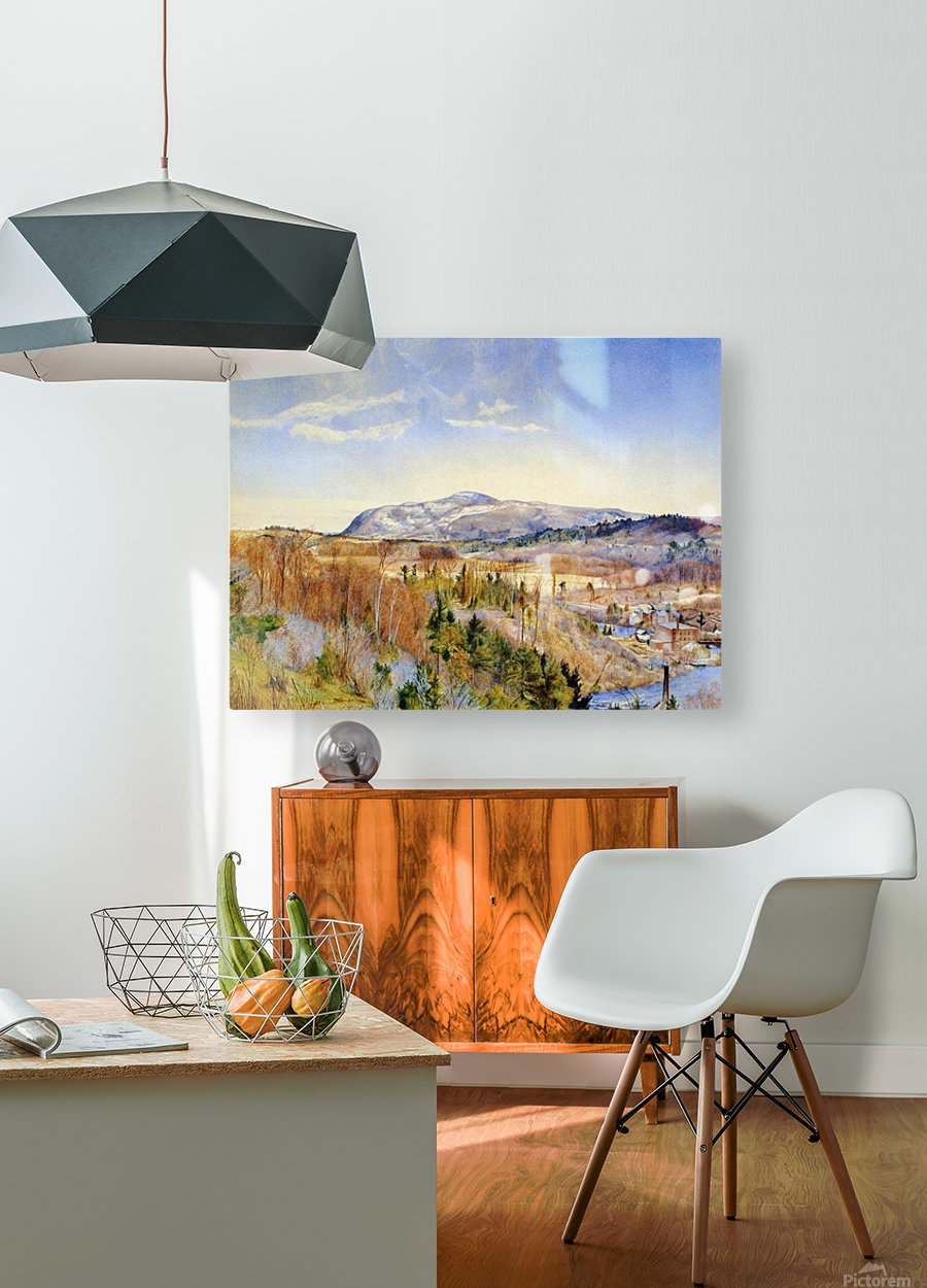 Mt. Everett from Monument Mountain  HD Metal print with Floating Frame on Back