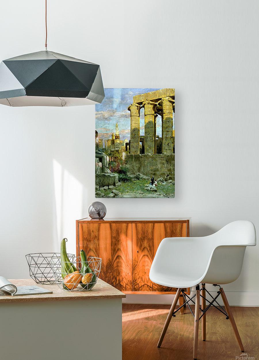 Cayro Egipt  HD Metal print with Floating Frame on Back