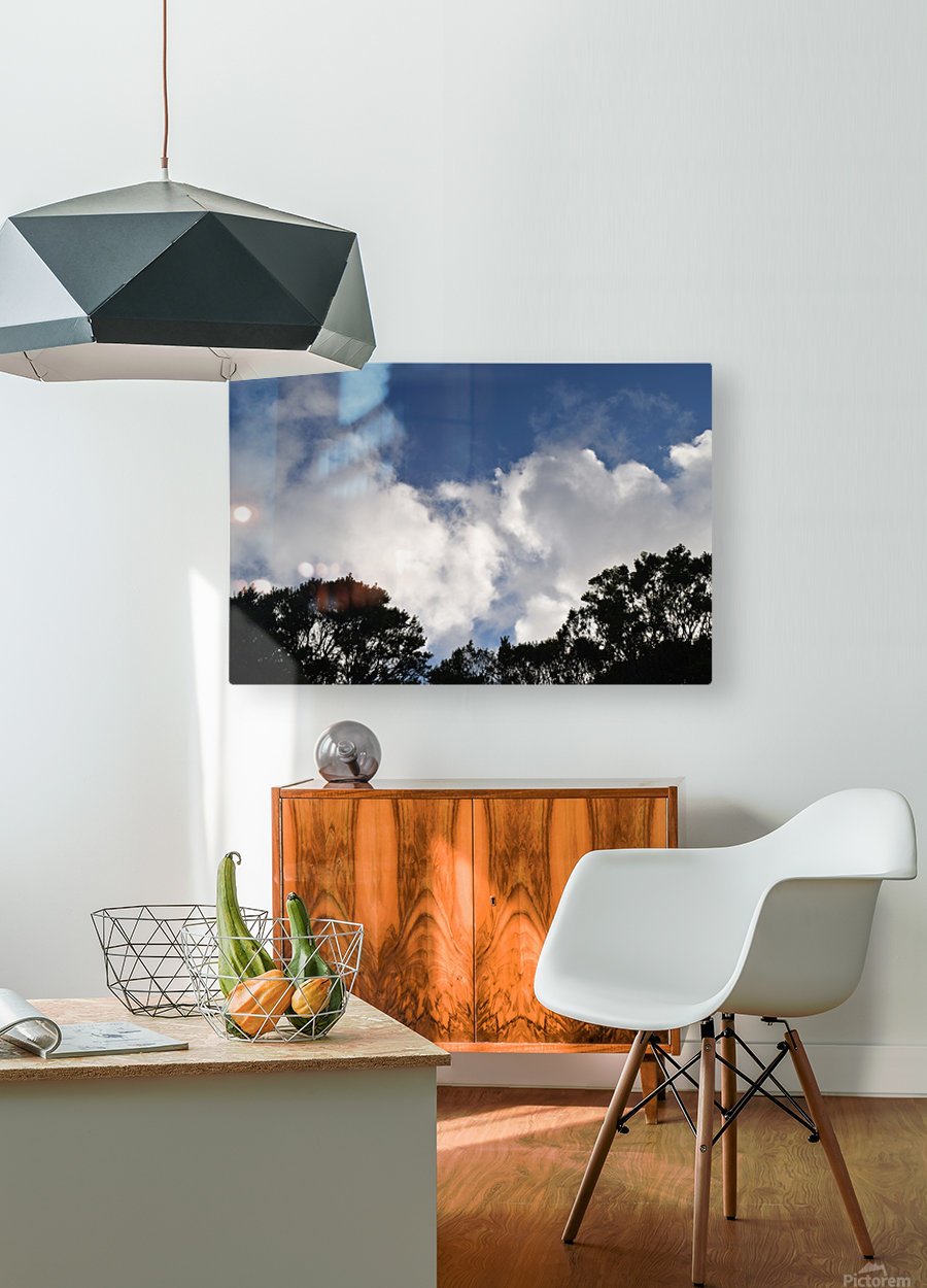 Clouds  HD Metal print with Floating Frame on Back