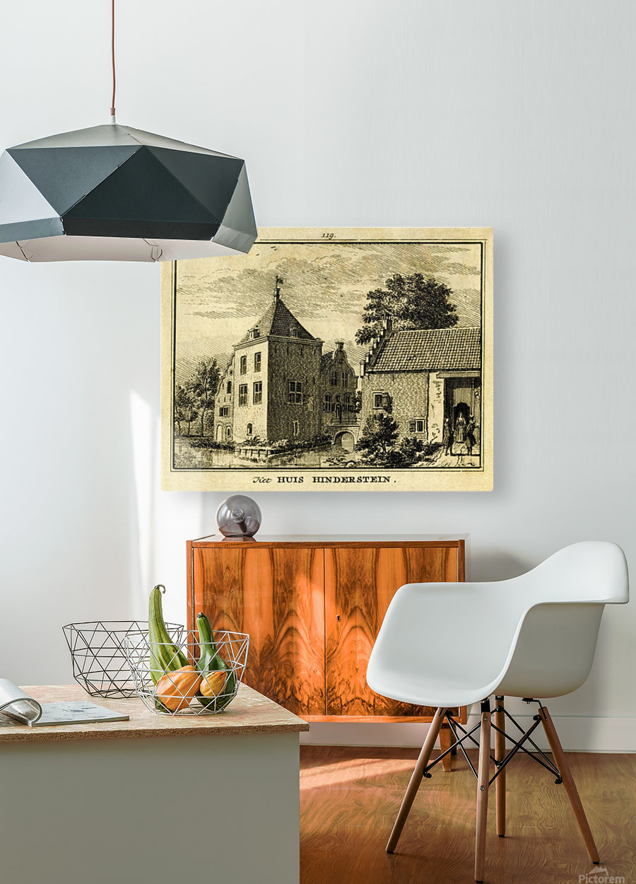 Huis Hinderstein  HD Metal print with Floating Frame on Back