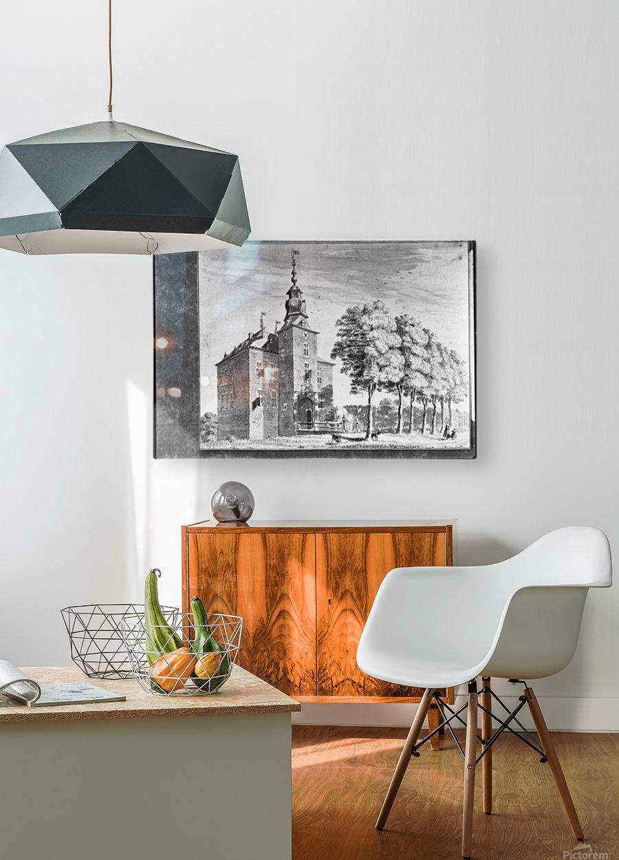 Vlodrop  HD Metal print with Floating Frame on Back