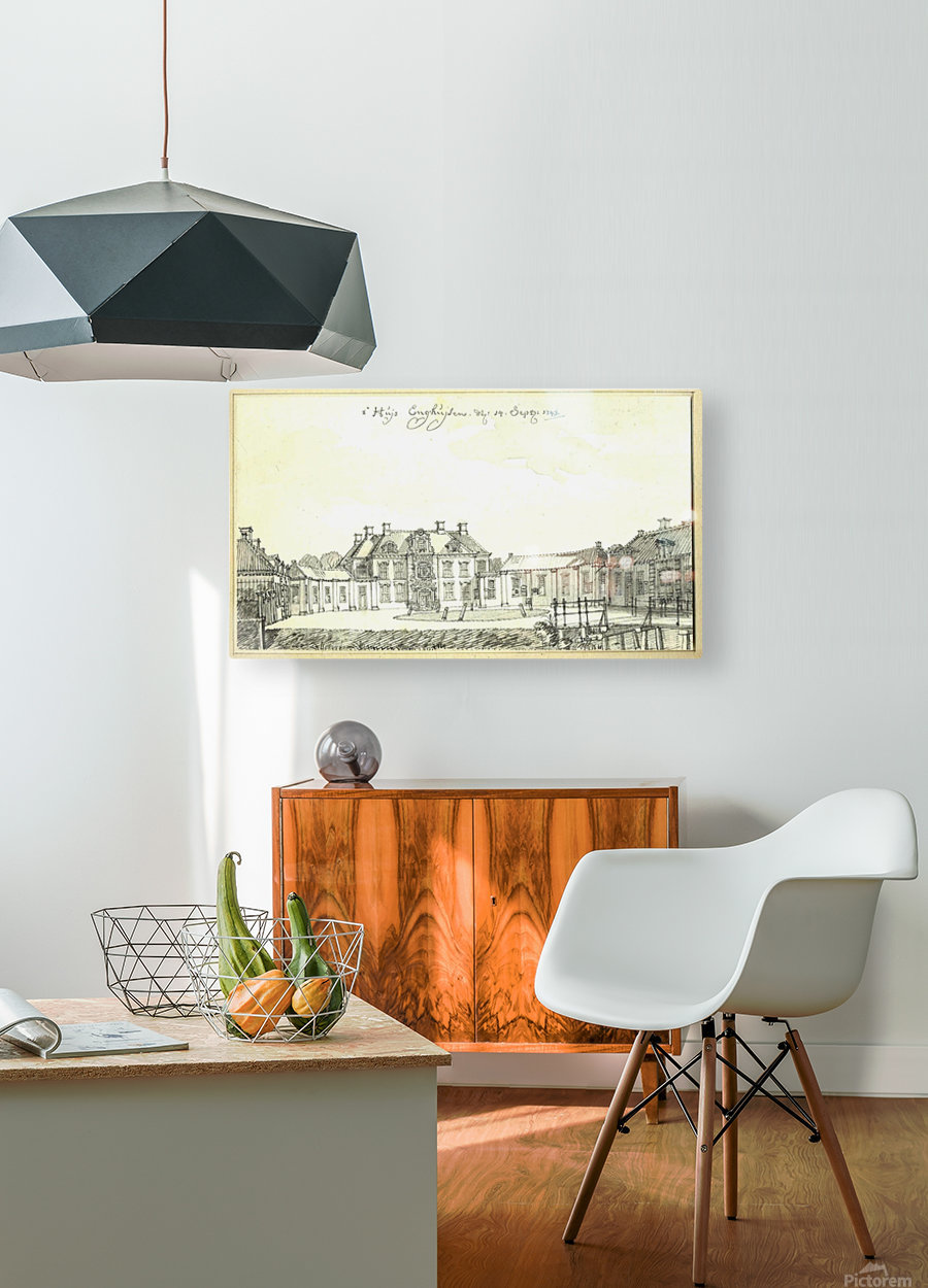 Huis Enghuizen  HD Metal print with Floating Frame on Back