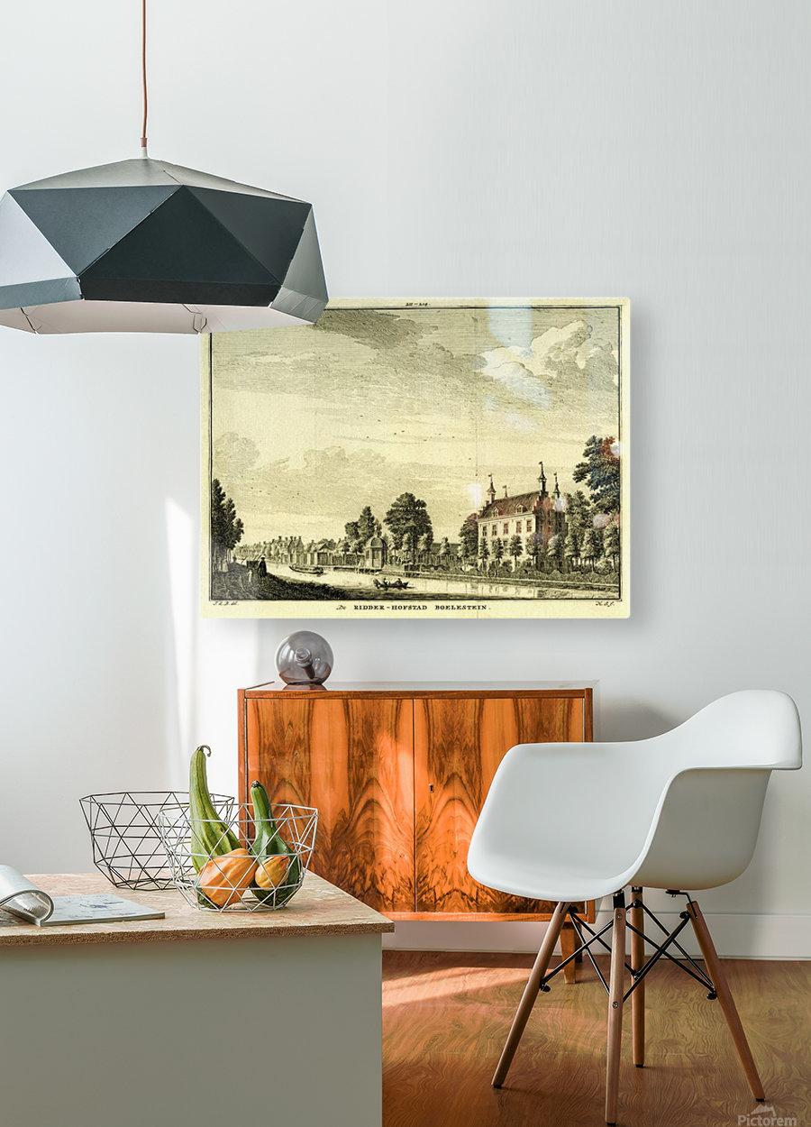 Ridderhofstad Boelestein  HD Metal print with Floating Frame on Back
