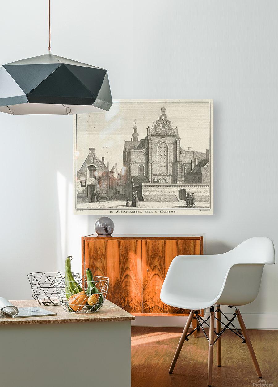Katharynen Kerk  HD Metal print with Floating Frame on Back