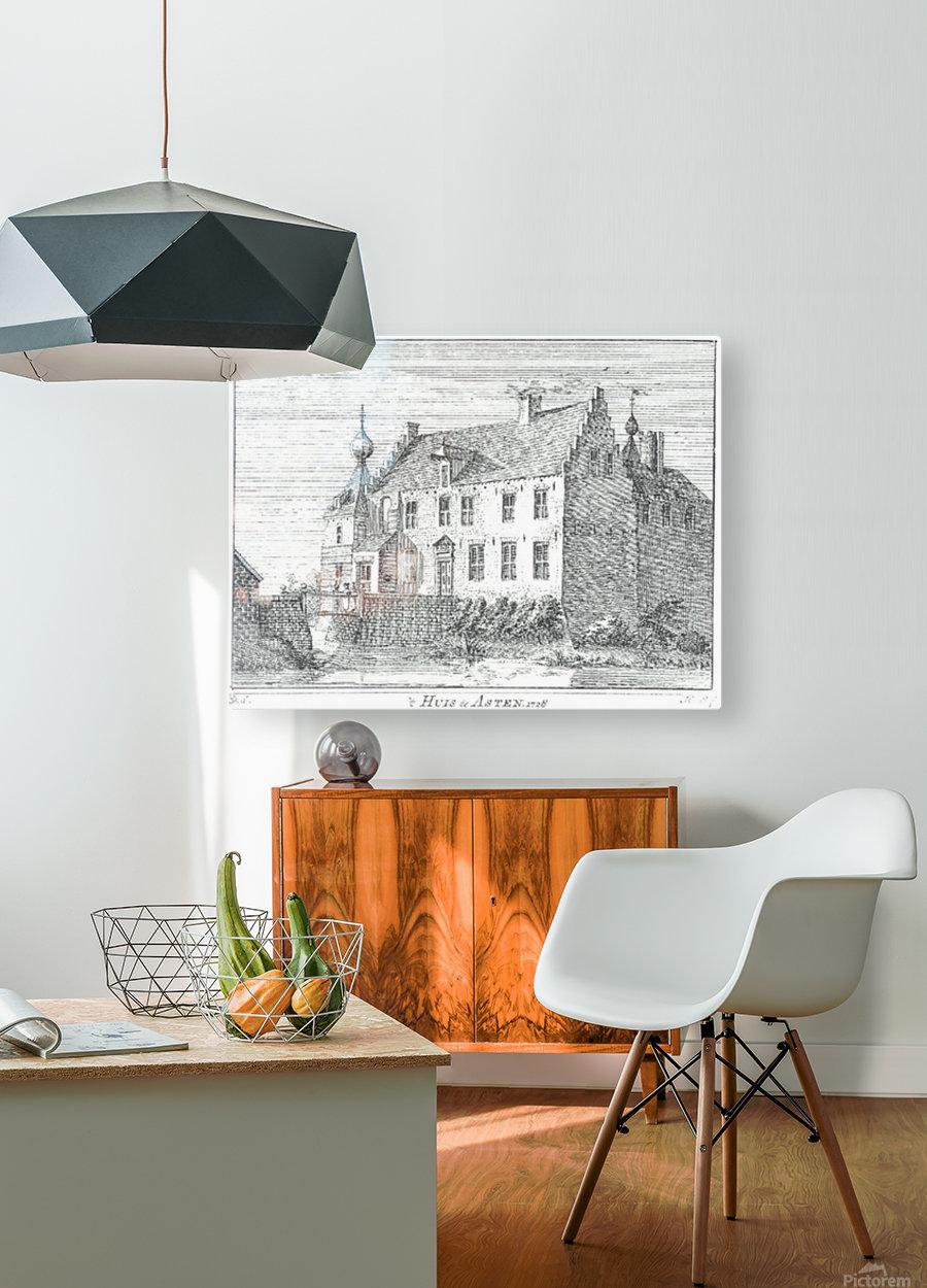 Huis te Asten  HD Metal print with Floating Frame on Back