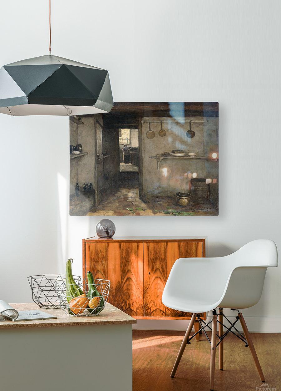 Doorkijkje in het onderhuis van Weissenbruch's woning in Den Haag  HD Metal print with Floating Frame on Back