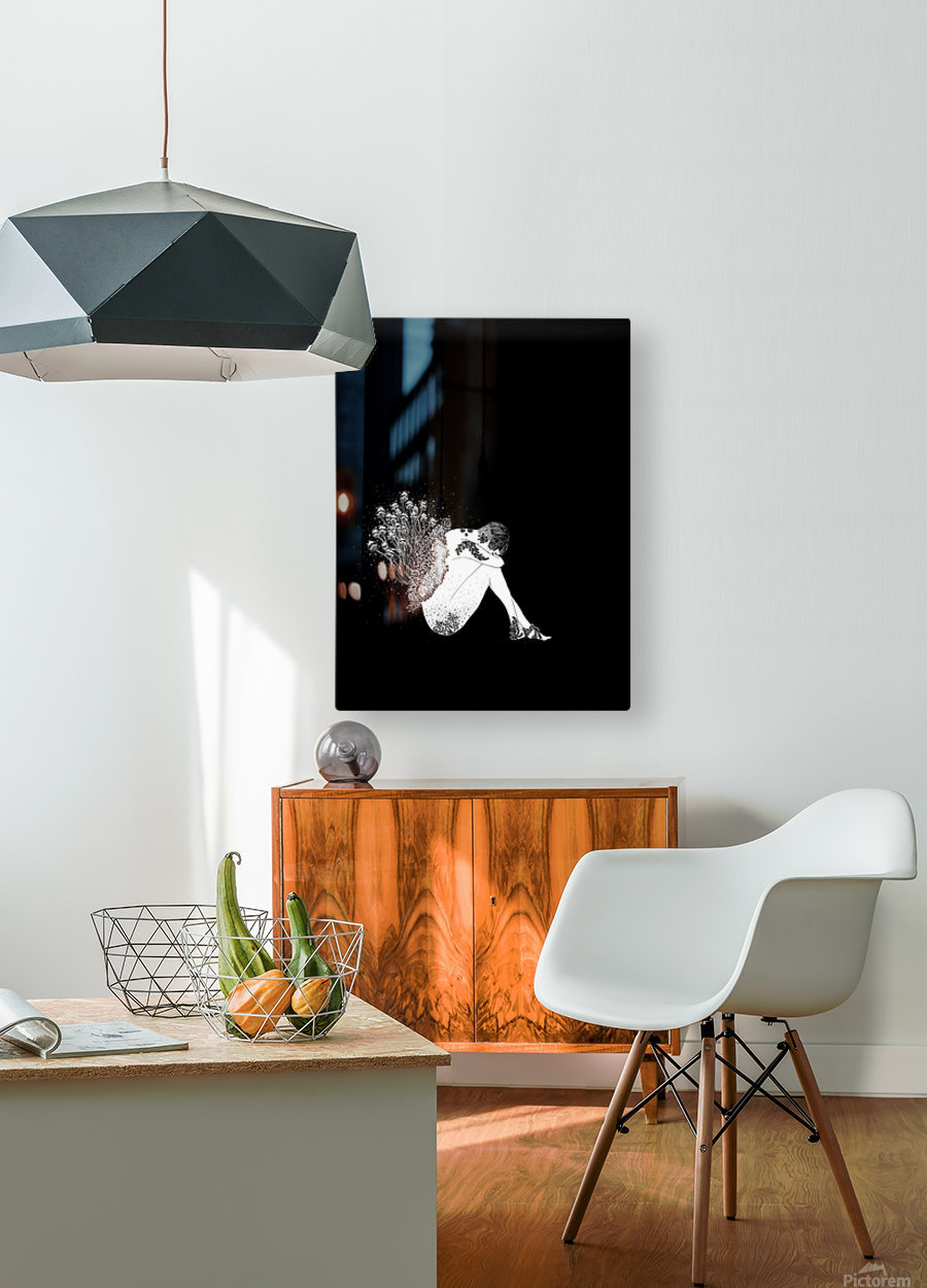 Toadstool   HD Metal print with Floating Frame on Back