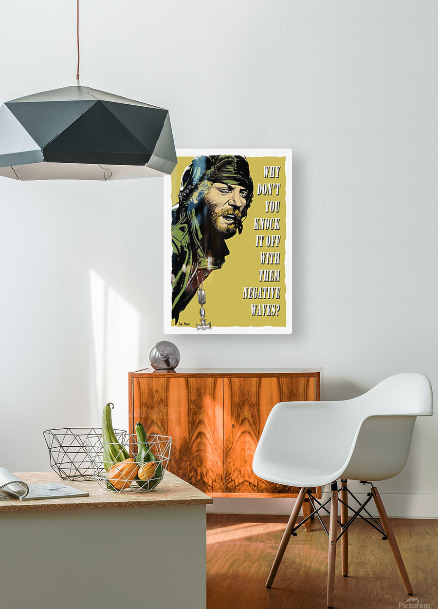 Kellys Heroes - Oddball Says  HD Metal print with Floating Frame on Back