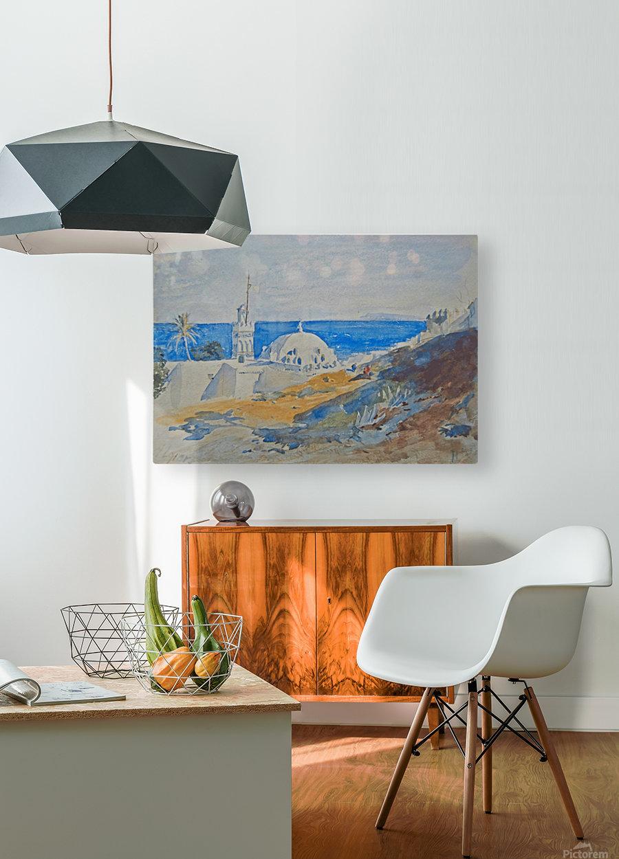 Algiers, Algeria  HD Metal print with Floating Frame on Back