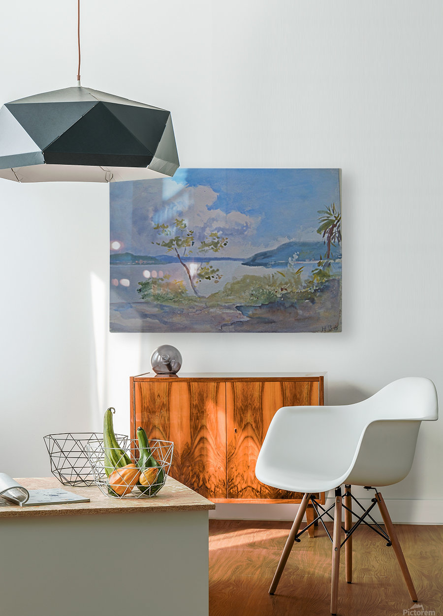 Lago Maggiore, Italy  HD Metal print with Floating Frame on Back