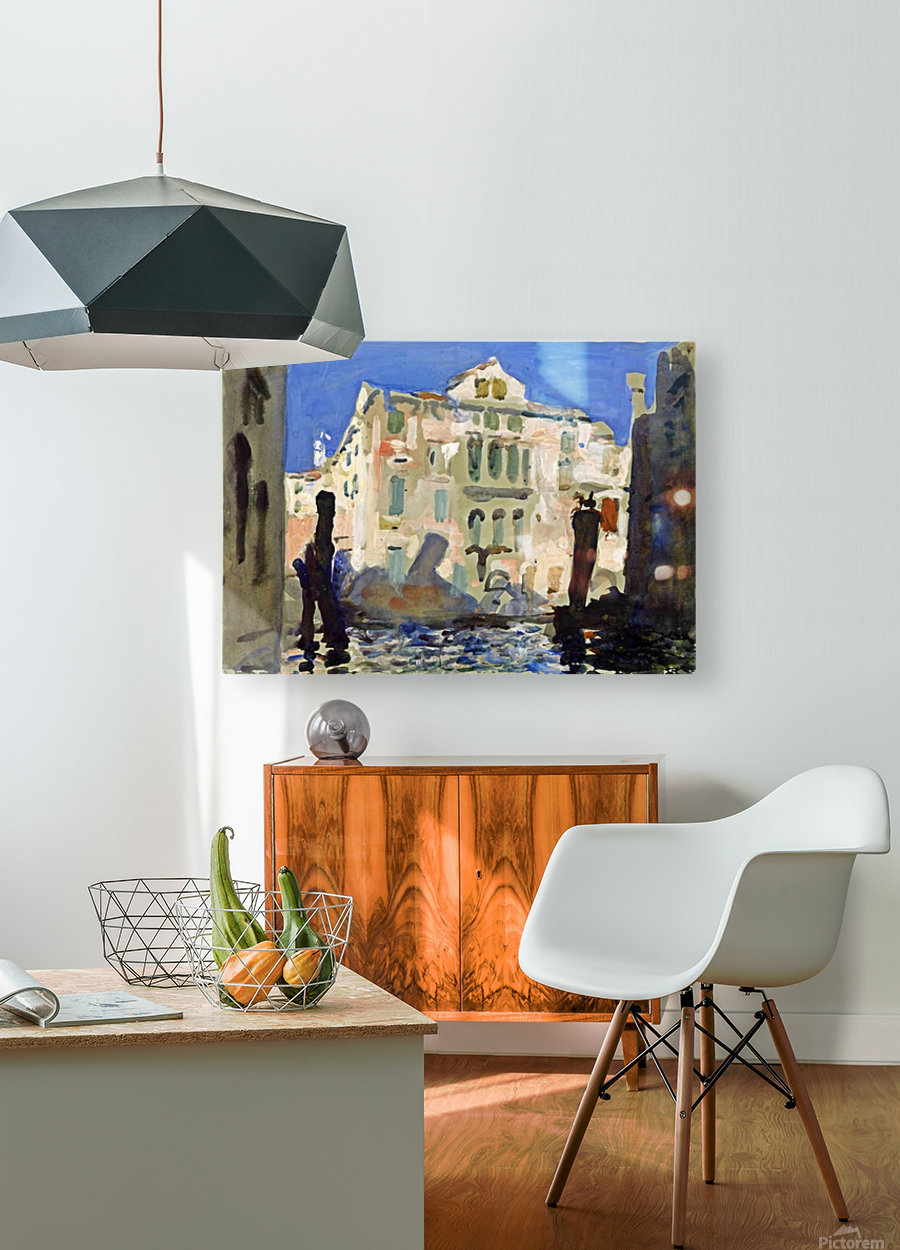 Venice  HD Metal print with Floating Frame on Back