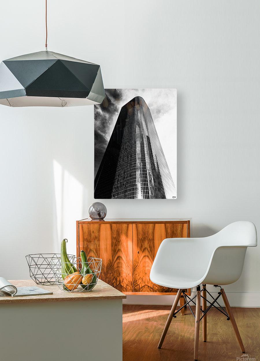 CORPORATE NIGHTMARES II  HD Metal print with Floating Frame on Back