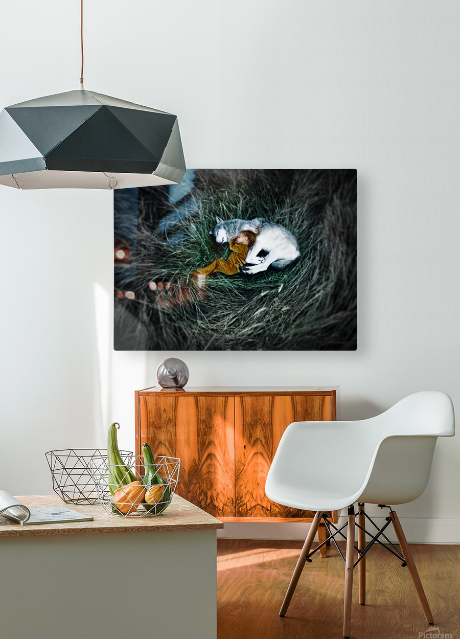 Unison with nature 2.  HD Metal print with Floating Frame on Back