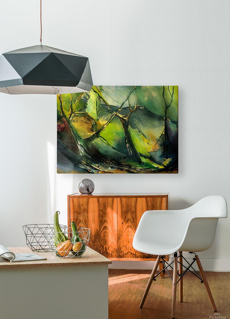 Inner landscape   HD Metal print with Floating Frame on Back
