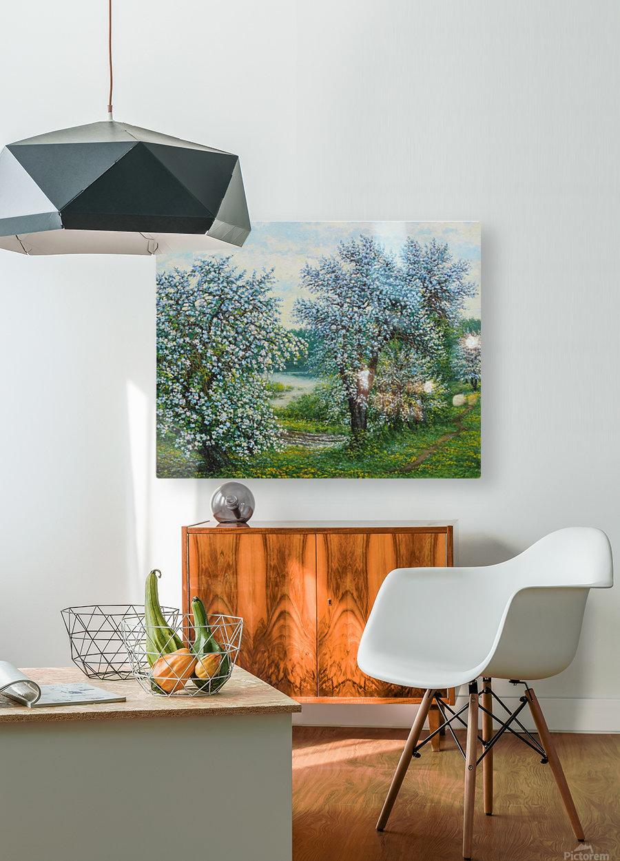 Belakvet  HD Metal print with Floating Frame on Back