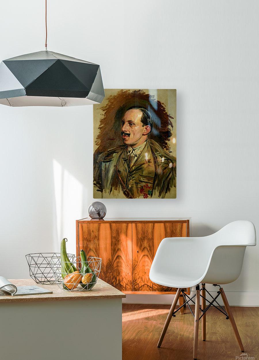 Jose Moreno Carbonero Selfportrait  HD Metal print with Floating Frame on Back