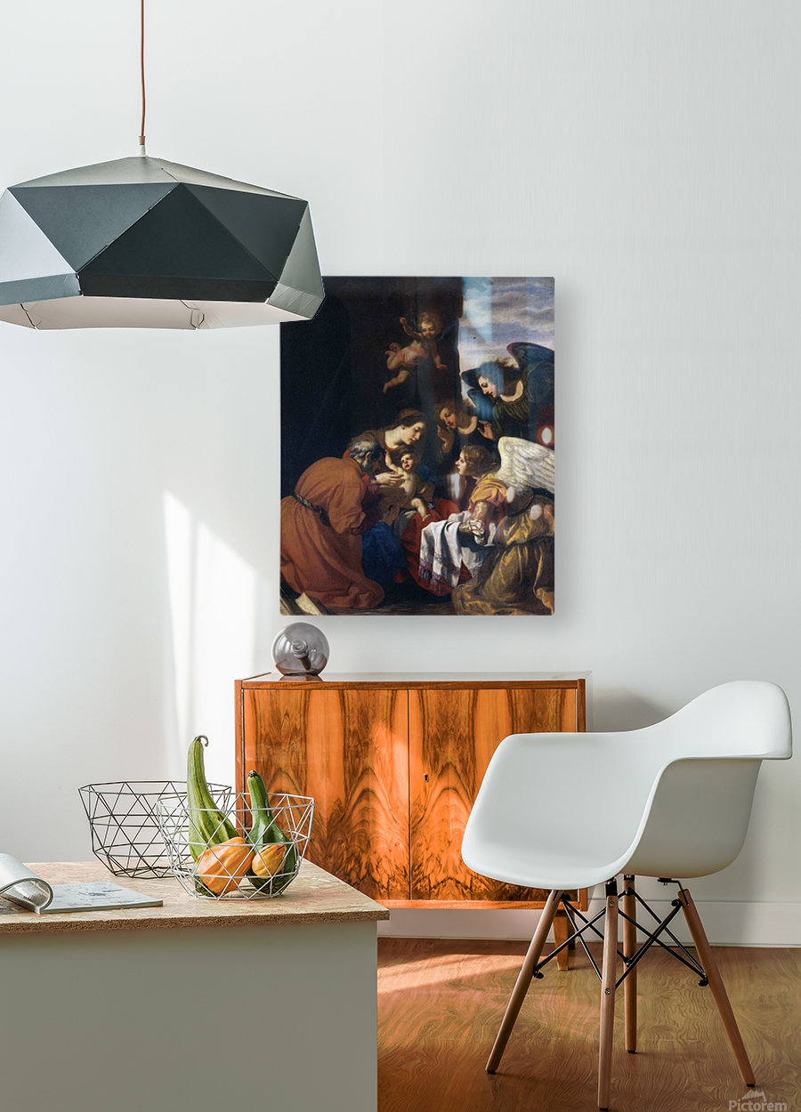 Circumcision of Christ  HD Metal print with Floating Frame on Back