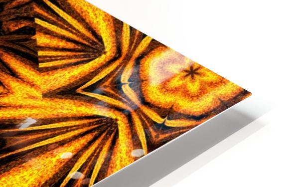 Golden Dandelion HD Sublimation Metal print
