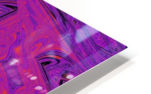 Purple Daisy  HD Sublimation Metal print