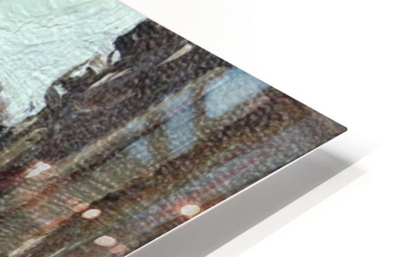 Montmartre Impression de sublimation métal HD