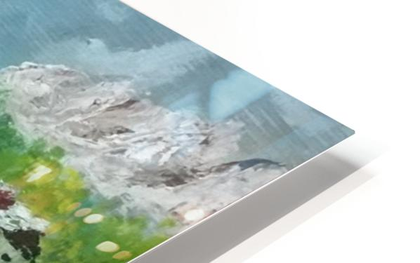 By the shore   HD Sublimation Metal print