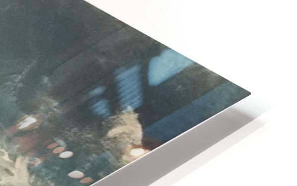 moon aura HD Sublimation Metal print