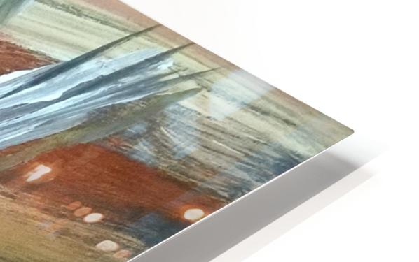 abstact canvas acrylic  HD Sublimation Metal print