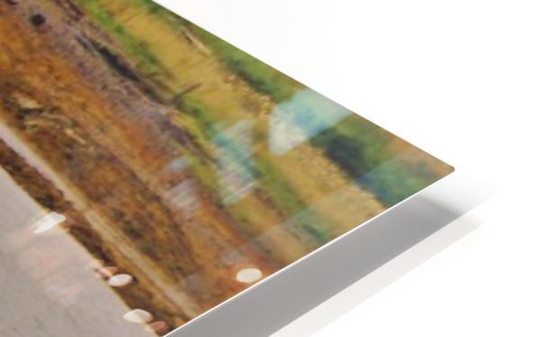 Loch trek HD Sublimation Metal print