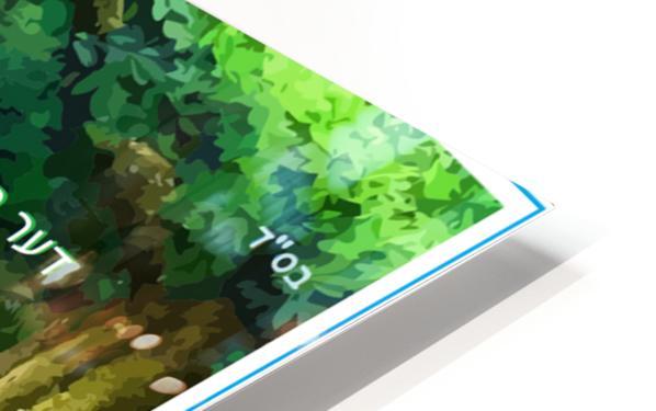 ART   water falls   baal shem tov 1 HD Sublimation Metal print