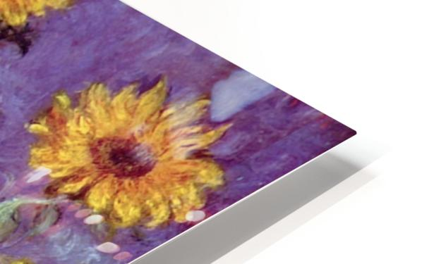 Still Life with Sunflowers by Monet HD Sublimation Metal print
