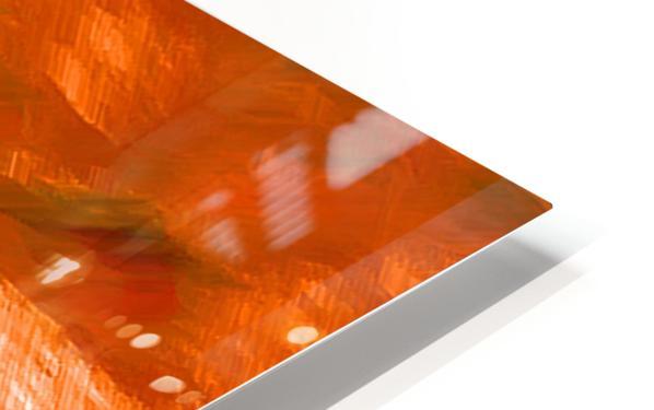Büffeln HD Sublimation Metal print