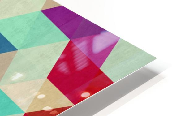 Cosmetic triangles IV HD Sublimation Metal print