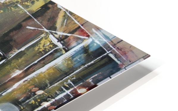 La Fin de la Traversée  HD Sublimation Metal print