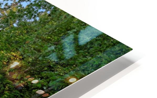 Canoes HD Sublimation Metal print