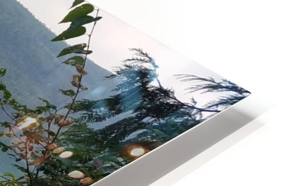 Crystal Clear White Lake HD Sublimation Metal print