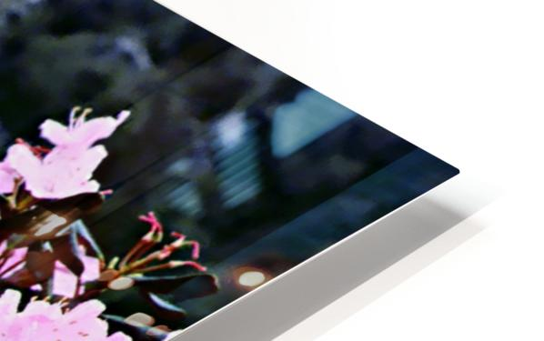 Flowers and Falls HD Sublimation Metal print