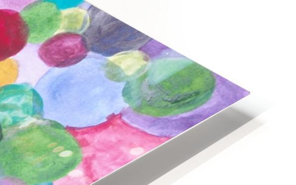 Colored Balls. HD Sublimation Metal print