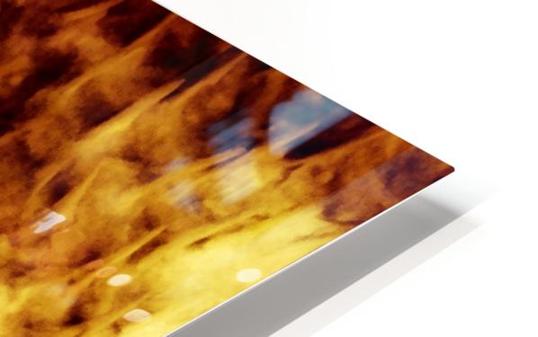 CURIOSITY - ORANGE HD Sublimation Metal print