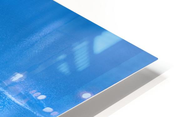 Icy blue  HD Sublimation Metal print