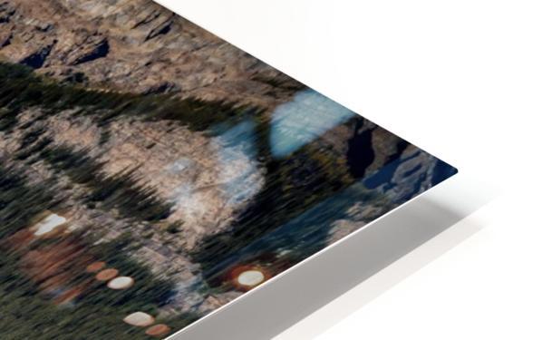 LakeLouiseCanoes HD Sublimation Metal print