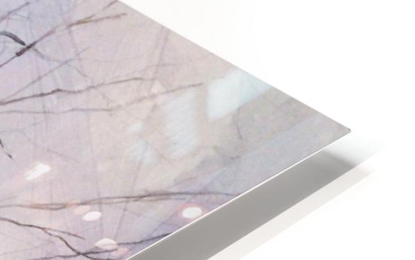 Walnut Tree HD Sublimation Metal print