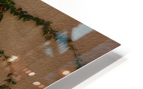 Wall Vines on Edge HD Sublimation Metal print