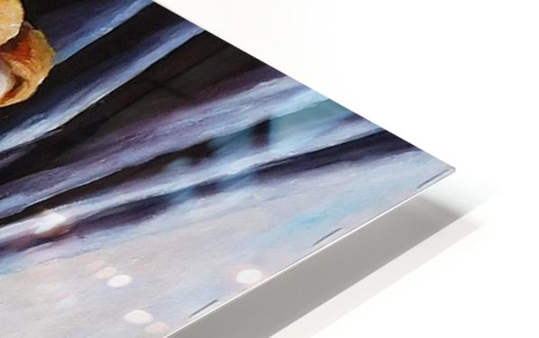 Glass of water HD Sublimation Metal print