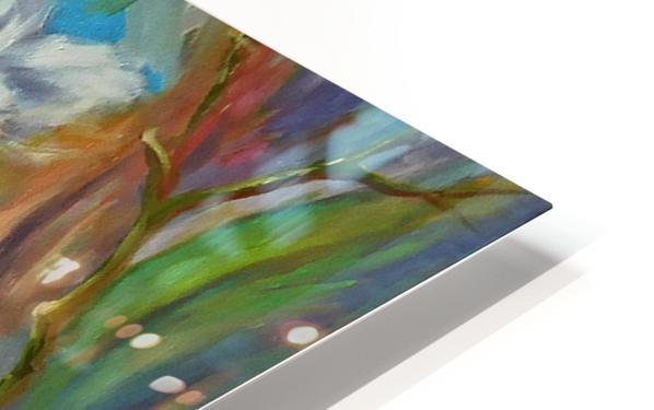 White color HD Sublimation Metal print