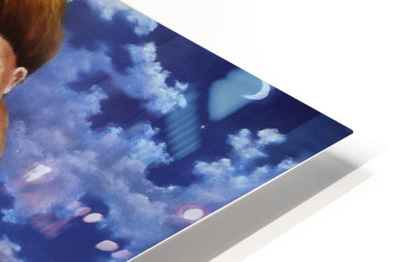 Windy Flutist HD Sublimation Metal print