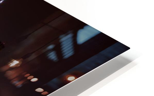 MANHATTAN SKYLINE & BROOKLYN BRIDGE Idyllic Nightscape | Panoramic  HD Sublimation Metal print