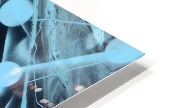 ATOMIC BLUE HD Sublimation Metal print