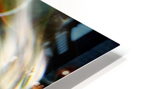 GalaxyInGlassV002 HD Sublimation Metal print